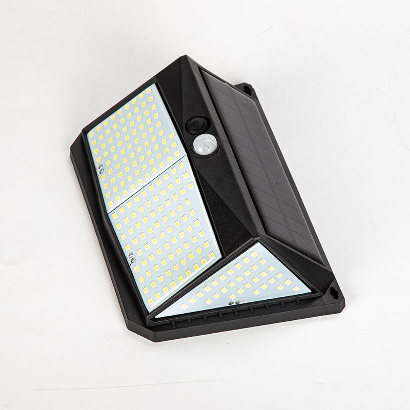 太阳能庭院户外灯人体感应壁灯家用室内照明高亮室外防水LED路灯