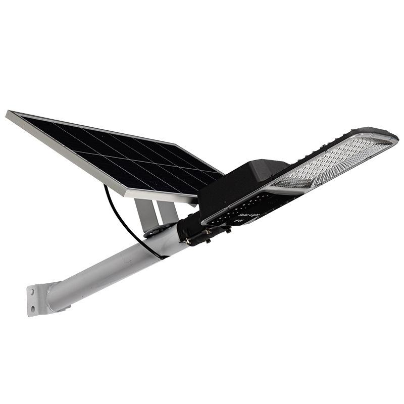 常州太阳能户外路灯庭院灯家用照明灯大功率投光灯6米杆感应一体路灯