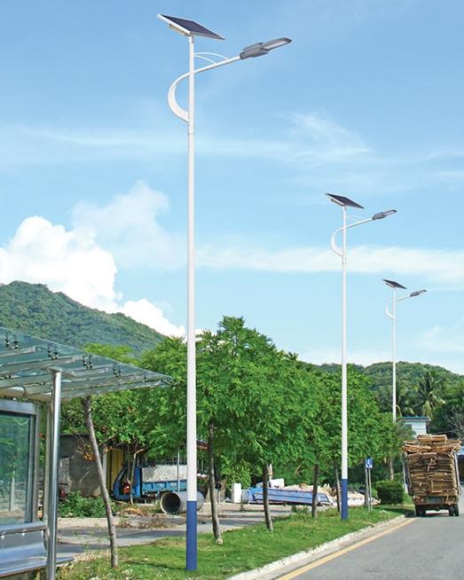 太阳能投光灯厂家住宅小区应用案例