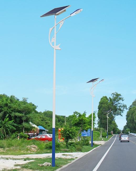 太阳能投光灯厂家城市道路应用案例